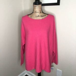 Style & Co Boatneck Berry Punch Sweater NEW!